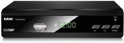 DVB-T2 приставка BBK SMP250HDT2 Black