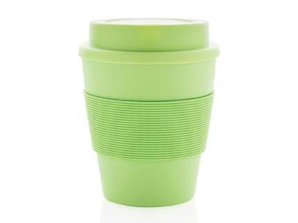 Стакан для кофе XD Collection с закручивающейся крышкой зеленый