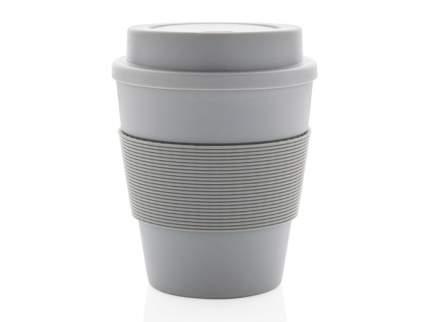 Стакан для кофе XD Collection с закручивающейся крышкой цвет серый