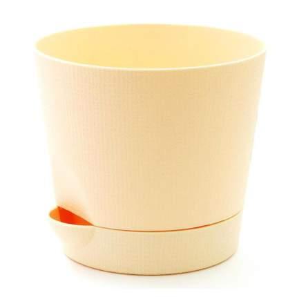 Горшок для цветов с поддоном Le Parterre d=19,5, 2,8 л/кремовый