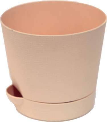Горшок для цветов с поддоном Le Parterre d=15, 1,4 л/кремовый