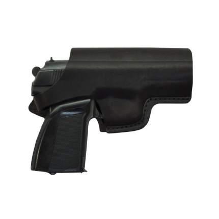 Кобура поясная к пистолетам Вальтер-СП-66, Гроза, Хорхе формованная кожаная HS-ПК-15