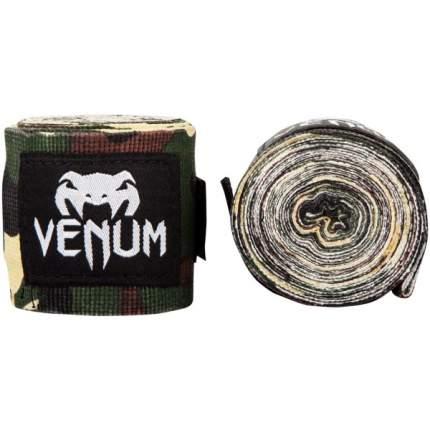 Бинты боксерские Venum Kontact 4m Forest Camo,