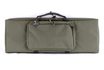 Кейс зеленый с пенополиэтиленом и креплением молле, с 2мя карманами  VEKTOR А-8-1з