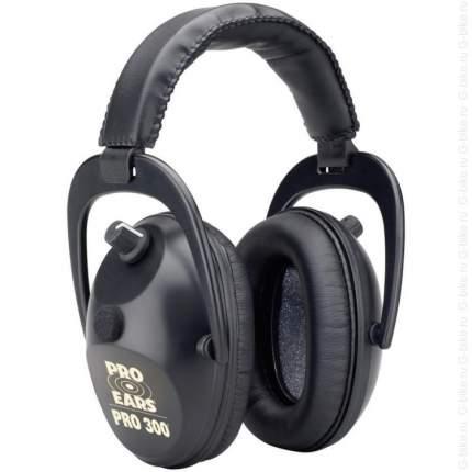 Наушники активные Pro 300 черные стерео, складные