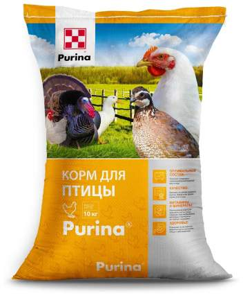 Комбикорм Стартер для молодняка яичной птицы Purina 10 кг