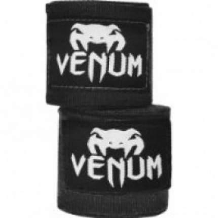 Бинты боксерские Venum Kontact 2,5m Black,