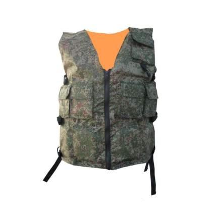 Спасательный жилет Helios Сузун, оранжевый/камуфляж, One Size