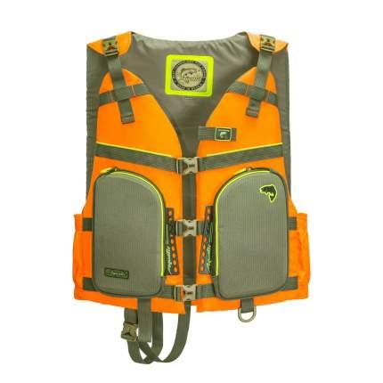 Спасательный жилет Aquatic ЖС-05О, оранжевый, XL
