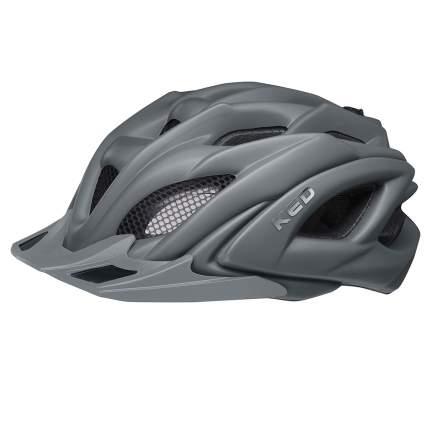 Велосипедный шлем KED Neo Visor, dark grey matt, XL