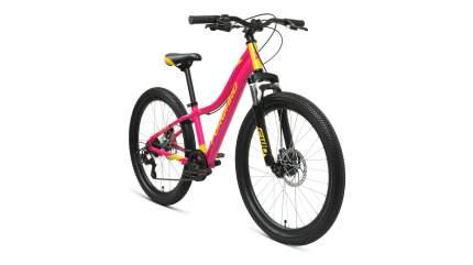 """Велосипед Forward Jade 24 2.0 Disc 2021 12"""" розовый/золотой"""