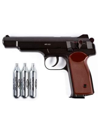 Пистолет пневматический Gletcher APS NBB + 3 баллона CO2