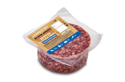 Бургер из мраморной говядины Мираторг Классический охлажденный 900 г