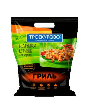 Бедрышки куриные Троекурово для барбекю охлажденные ~1 кг