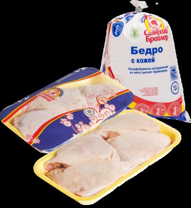 Бедро цыпленка-бройлера Саянский бройлер замороженное ~1 кг