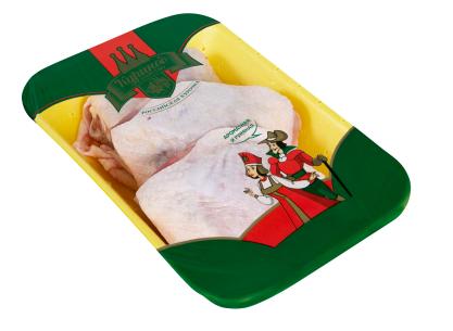 Бедро куриное с кожей Куриное Царство Особое замороженное ~1 кг