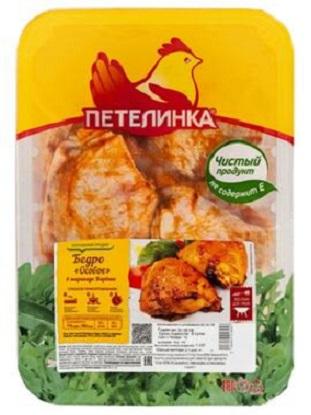 Бедро в соусе куриное Петелинка Особое ~1 кг