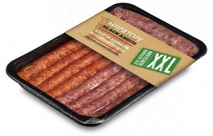 Ассорти колбасок из мраморной говядины Мираторг Black Angus охлажденные 640 г