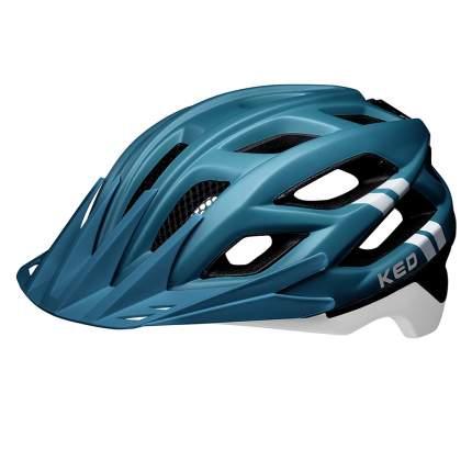 Велосипедный шлем KED Companion, blue white matt, M