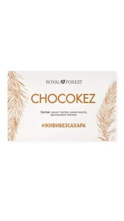 Шоколад Royal Forest Chocokez на финиковом пекмезе, 50 гр