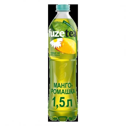 Чай Fuzetea холодный зеленый манго-ромашка 1,5 л