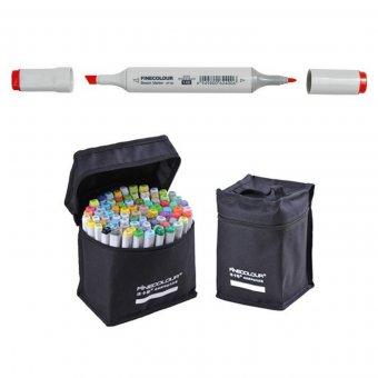 Набор маркеров Finecolour Sketch 50 цветов (сумка)