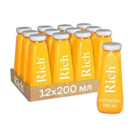 Сок Rich апельсиновый 100%