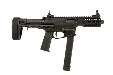 Пистолет пулемет Ares M4 45S-S BK (AR-085E)