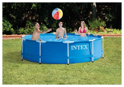 Каркасный бассейн Intex Metal Frame 28200 305x305x76 см