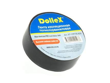 Изолента 9m x 19mm Dollex ET-1391BLACK