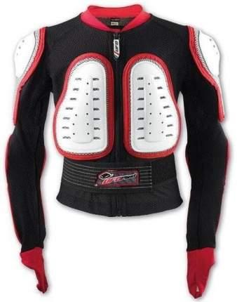 Защитная Куртка Nidecker 2020-21 Kids Predator Jacket White/Red (Us:m)