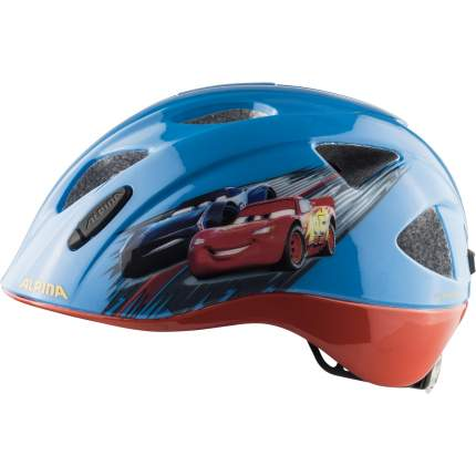 Велошлем Alpina 2020 Ximo Disney Cars, 49-54 см