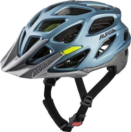 Велошлем Alpina 2020 Mythos 3.0 L.e. Blue Metallic-Neon, 52-57 см