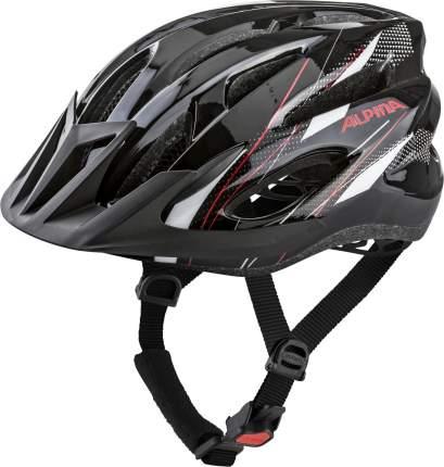 Велошлем Alpina 2020 Mtb 17 Black-White-Red, 58-61 см