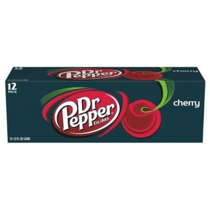 Напиток  Dr.Pepper  Вишня газированный 12 шт 355 мл/12