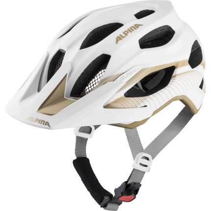 Велошлем Alpina 2020 Carapax 2.0 White-Prosecco, 52-57 см
