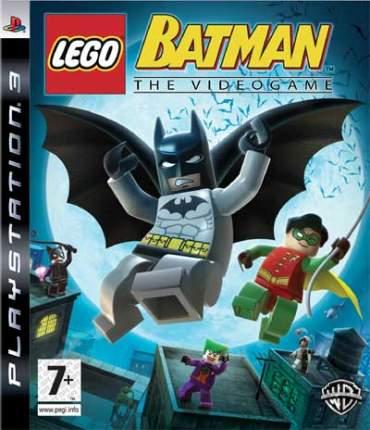 Игра LEGO Batman: The Videogame для PlayStation 3