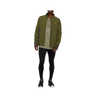 Куртка Asics Lite-Show Winter Jacket, smog green/graphite grey, XL