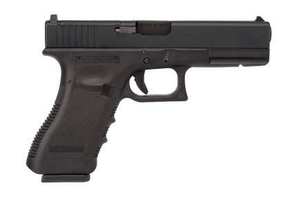 Пистолет WE Glock 17 Gen 3 с тактическим затвором GBB BK (GP650-17-BK)