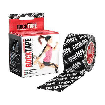 Кинезиотейп Rock Tape Classic 21619 черный 500 см