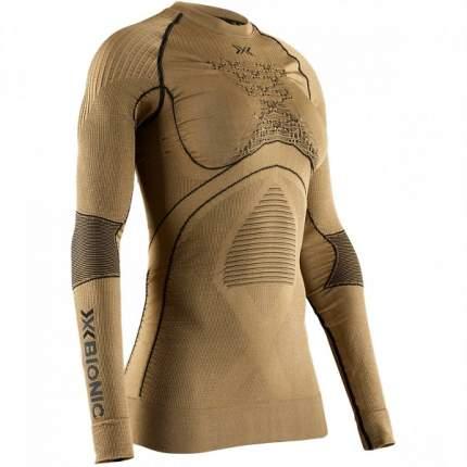 Термолонгслив X-Bionic Radiactor 4.0 Shirt Round Neck Lg Sl Wmn, gold/black, L