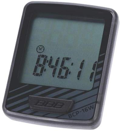 Велокомпьютер BBB Dashboard 12 Functions black/grey