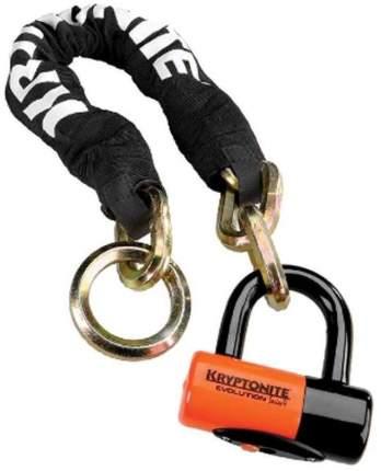 Велозамок Kryptonite U-Locks York Noose 1275 (12 мм x 75 см) With Evs4 Disc 14 мм Shackle