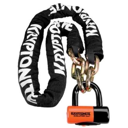 Велозамок Kryptonite U-Locks York Chain 1217 (12 мм x 170 см) With Evs4 Disc 14 мм Shackle