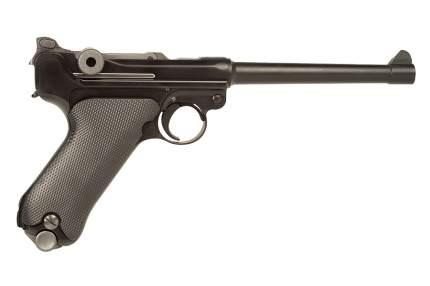 """Пистолет WE P08 6"""" Luger Artillery GGBB BK (GP402)"""