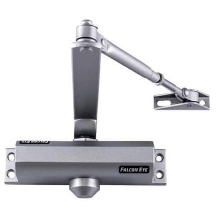 Доводчик FALCON EYE FE-B4W на дверь 65-85 кг, серебристый, 00-00018079