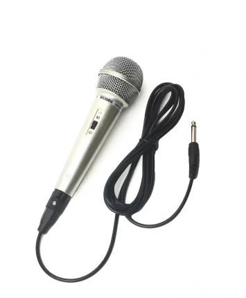 Проводной микрофон для караоке Qvatra 100153