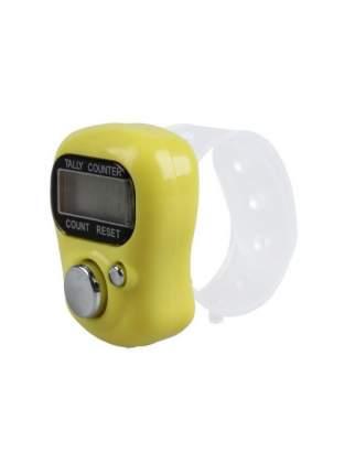 Электронный счетчик нажатий на кнопку (Цвет: Желтый  )