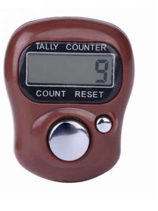 Электронный счетчик нажатий на кнопку (Цвет: Коричневый  )
