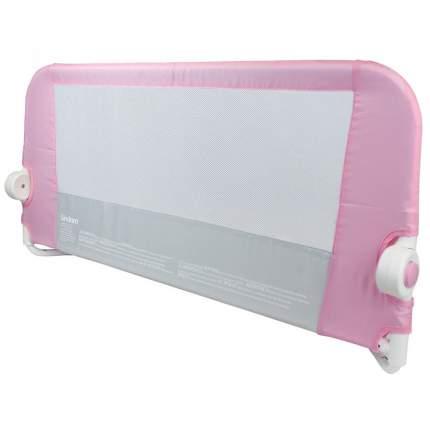 Текстильный бортик для кроватки Lindam Бортик защитный розовый